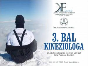 Alumni Split Bal kineziologa pozivnice  2015