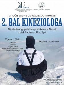 Alumni Split Bal kineziologa plakat (1)